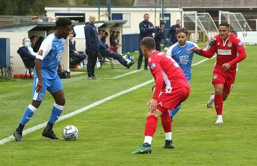 Angels (0) vs Hungerford Town National South 10.10.20.