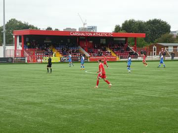 Carshalton Athletic (1) vs Angels (2) Pre-Season Friendly 29.08.20.
