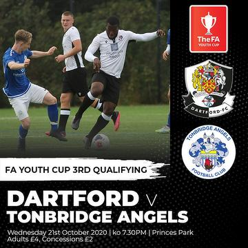 Dartford vs Angels Academy 21.10.20.
