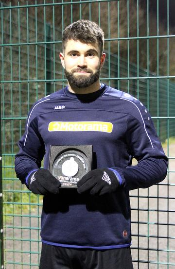 Joe Turner, Vanarama National League South Player of the Month February 2020