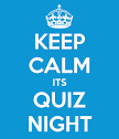 Keep Calm it's Quiz Night