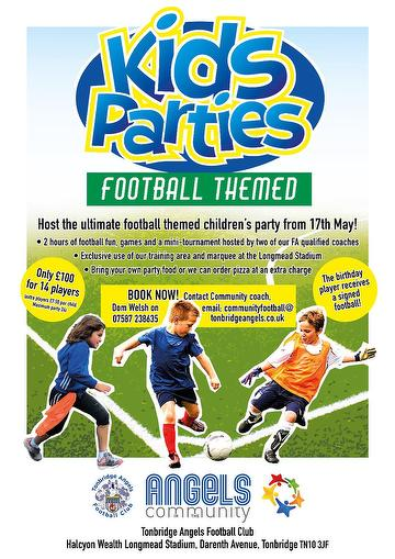Kids Parties March 2021