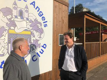 Tom Tugendhat MP with Dave Netherstreet 18.09.20
